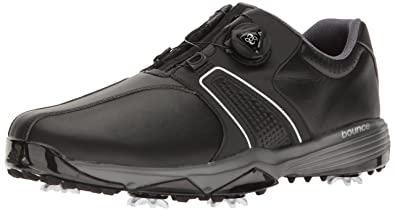 Adidas Men's 360 Traxion Boa WD Cblack Golf Shoe