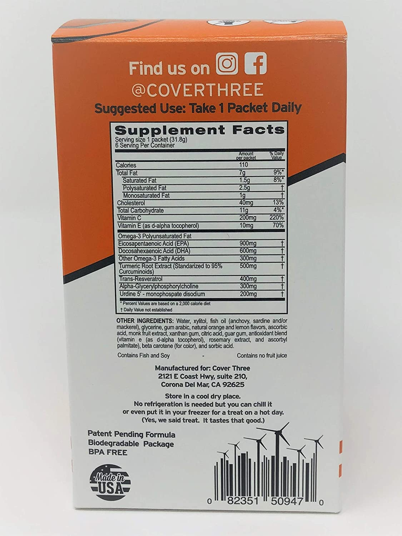 Nootropic Brain Supplement - Increase Focus, Memory, Clarity - Trans  Resveratrol, Omega 3's,