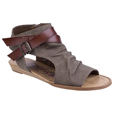 a579184ad201 Blowfish Womens Ladies Balla Sandals (7 UK) (Brown Rancher)  Amazon ...