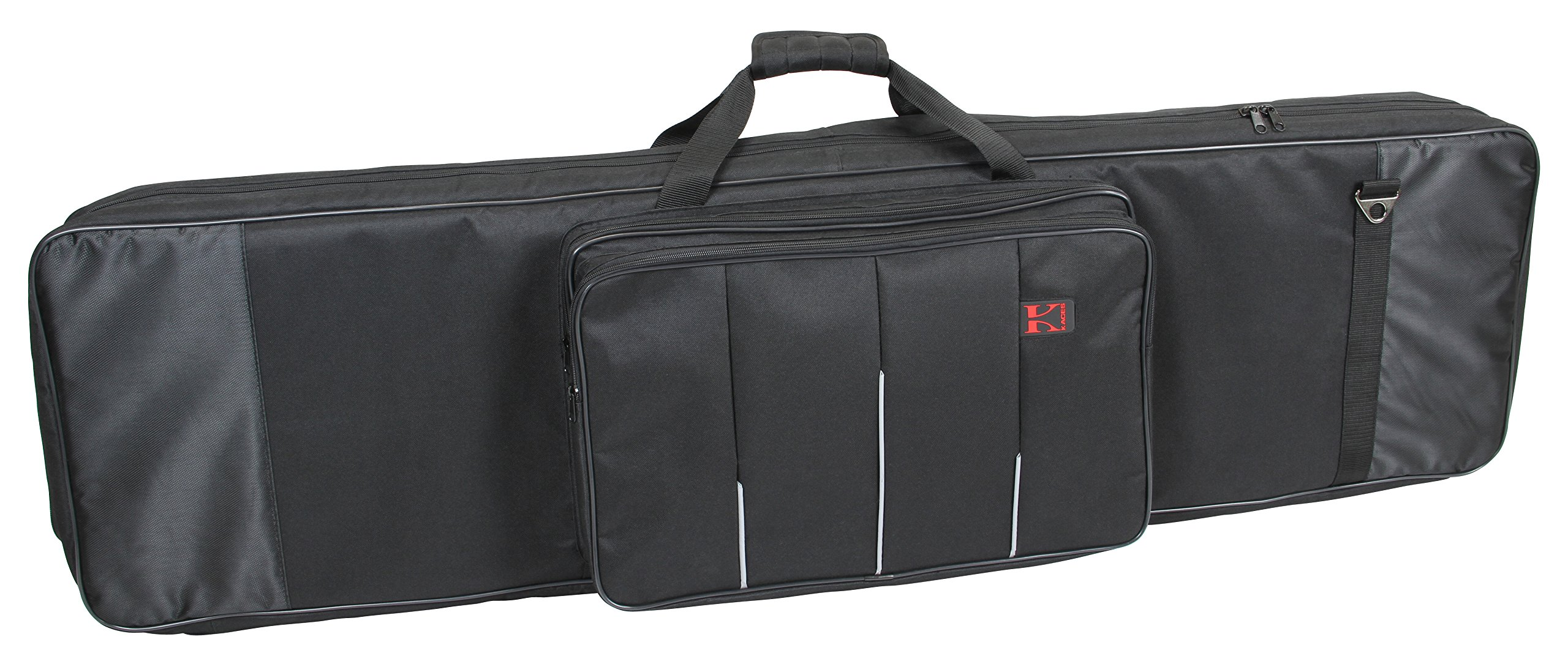 Kaces 9-KB Xpress Series Keyboard Bag, 61-Key Large (44.5'' x 17'' x 6.5'')
