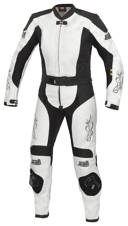 38 XLS Lederkombi Tribal Lady//Damen Leather suit schwarz wei/ß