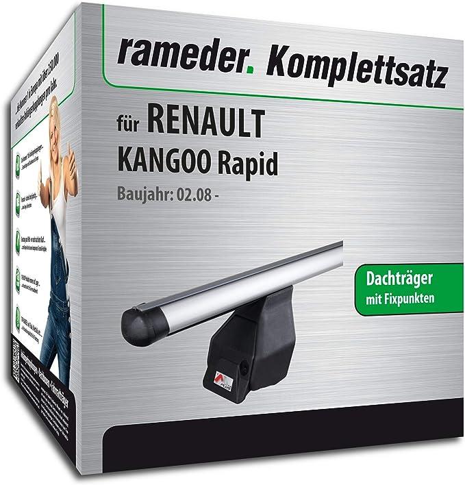 Rameder Komplettsatz Dachträger Tema Für Renault Kangoo Rapid 118849 06453 12 Auto