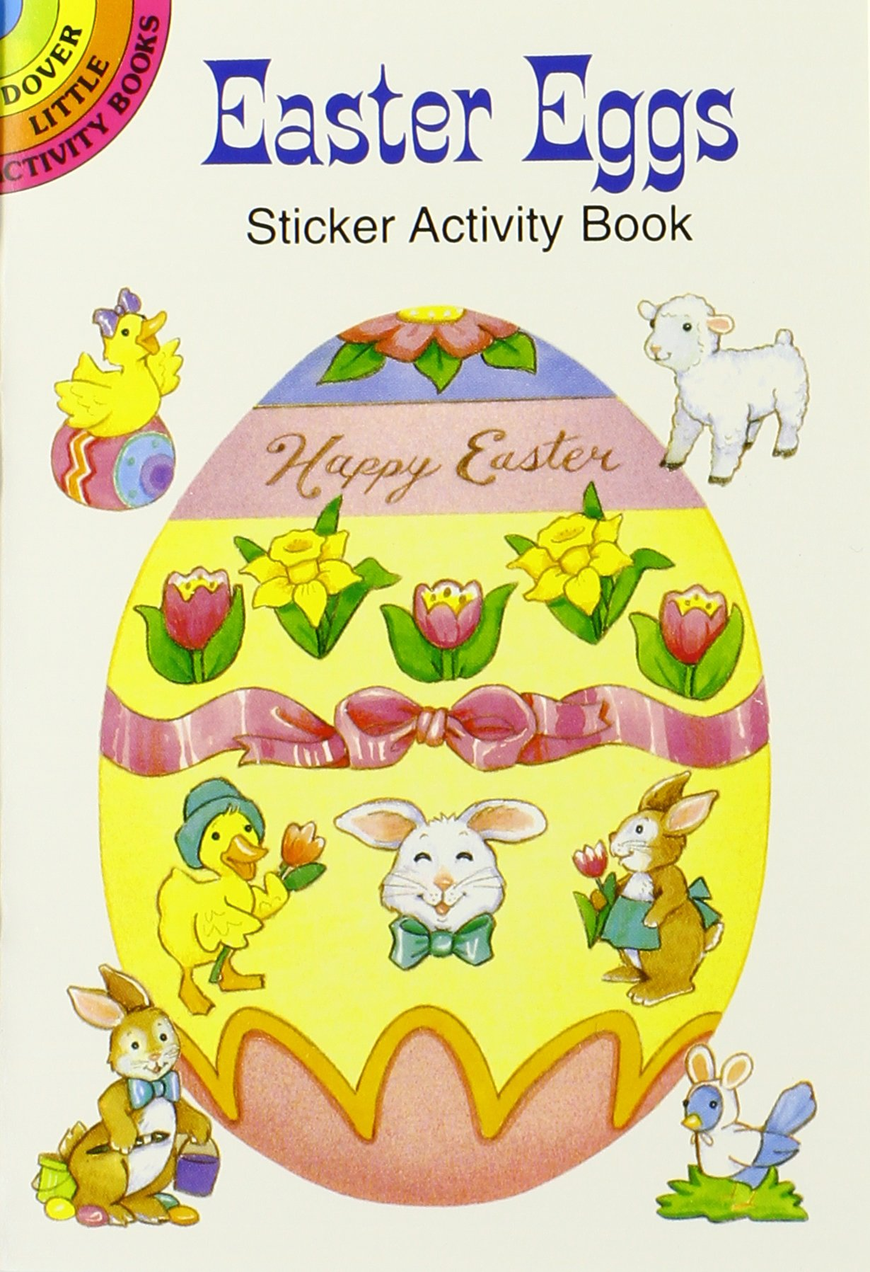 10 Easter Fun Books: Stickers, Stencils, Tattoos and More (Dover Little Activity Books)