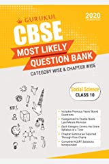 Most Likely Question Bank - Social Science: CBSE Class 10 for 2020 Examination Kindle Edition