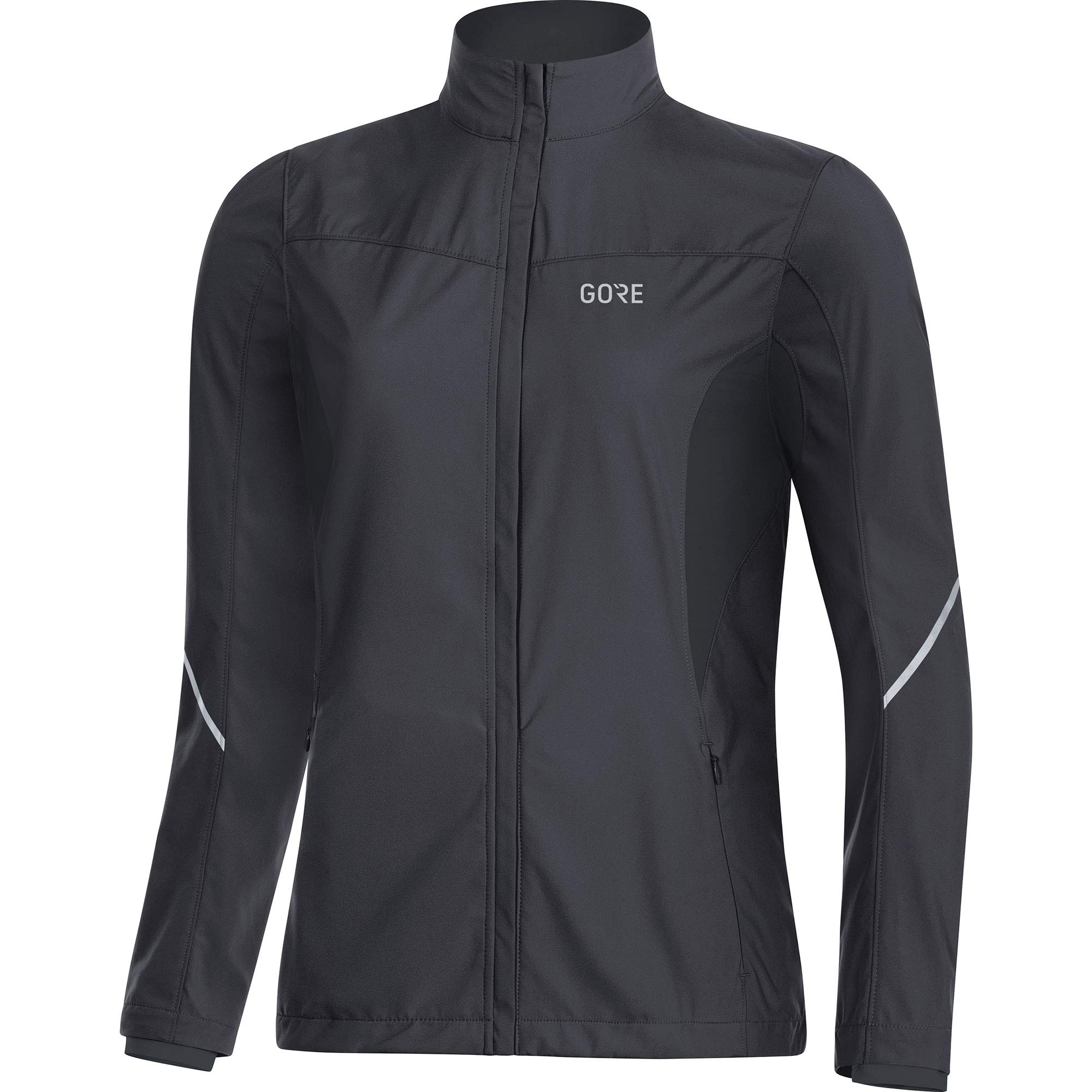 Gore Women's R3 Wmn Partial Gws Jacket,  terra grey/black,  XS