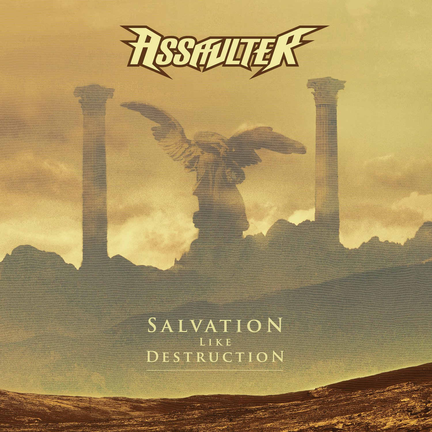 CD : Assaulter - Salvation Like Destruction (CD)