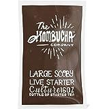 The Kombucha Company Large Kombucha SCOBY |16 Ounce Bottle of Strong Live Kombucha Starter Tea Cultures | Makes 1 Gallon…