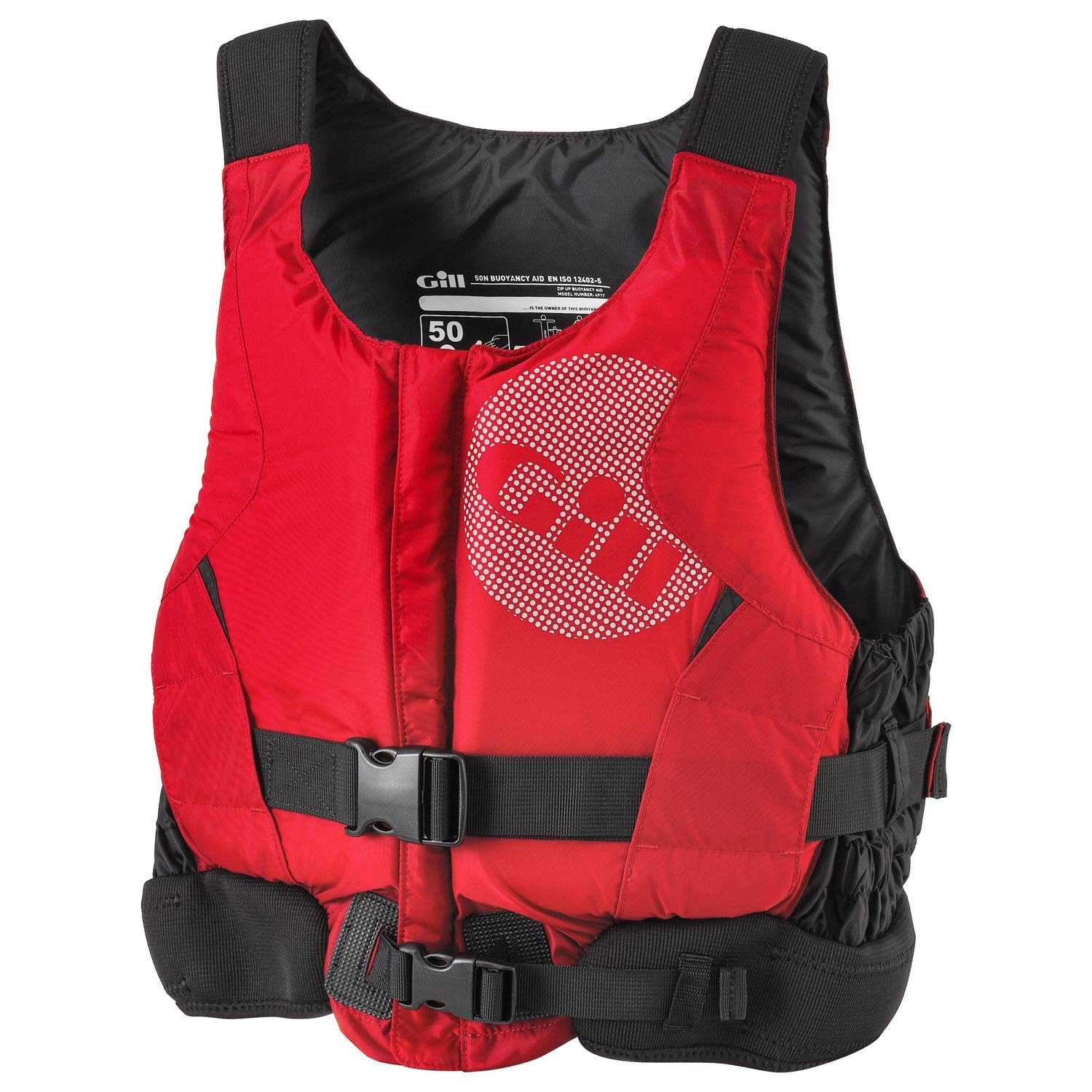 Unisex Gill Pro Racer Kids Youth Junior 50N Kayak Dinghy Sailing PFD Buoyancy Aid for Watersports Black