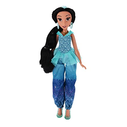 Amazon.com: Disney Princess Royal Shimmer Jasmine Doll: Toys & Games