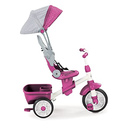 Little Tikes Perfect Fit 4-in-1 Trike, Pink: Toys & Games