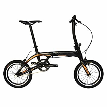 BEIOU® Sports Bicicleta plegable de velocidad Ultra Carbon Bicicleta urbana Superlight 16.8lb Motos céntricas