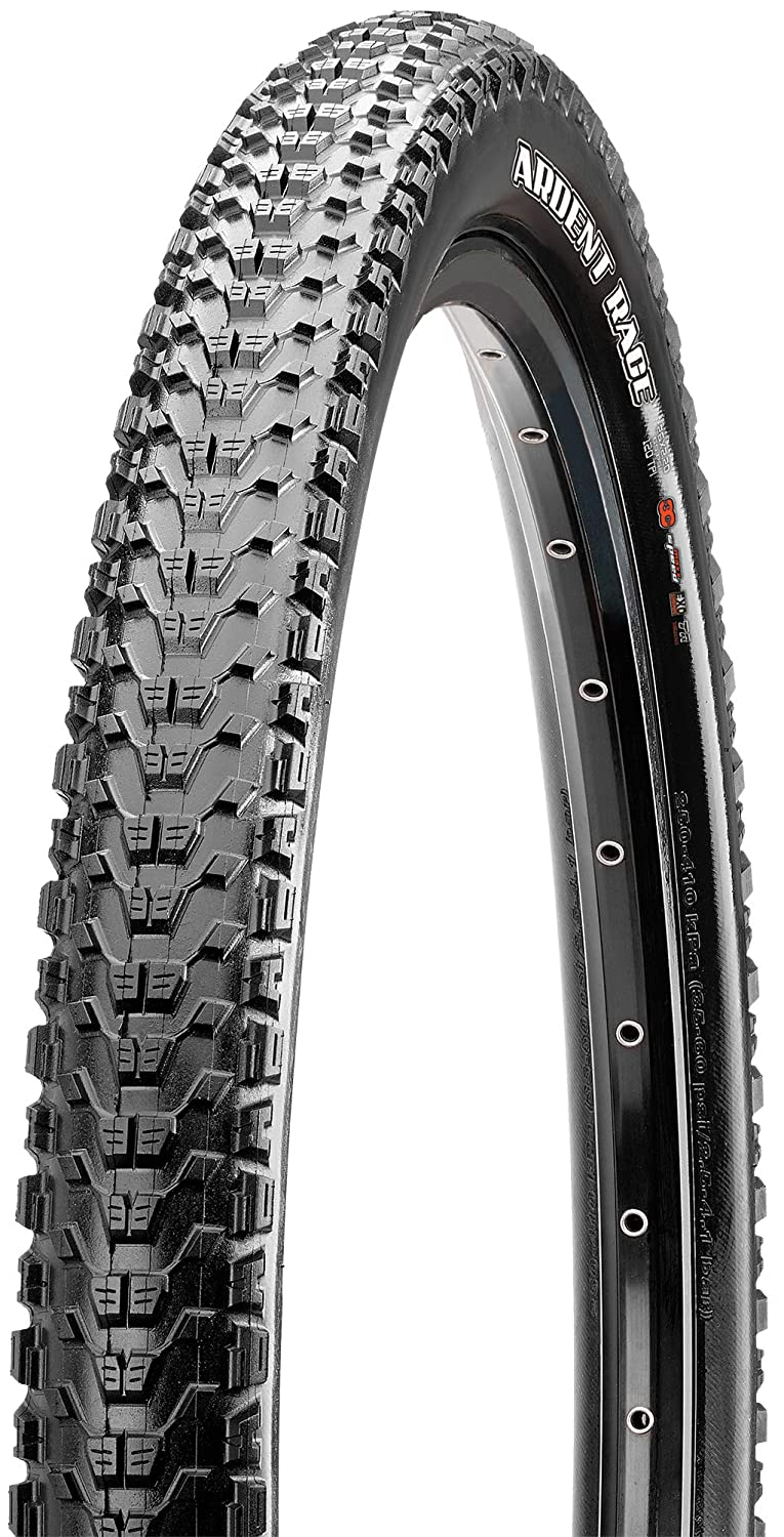 "Maxxis Ardent Tire: 26 x 2.40/"" 60tpi EXO Folding Tubeless Rea Dual Compound"