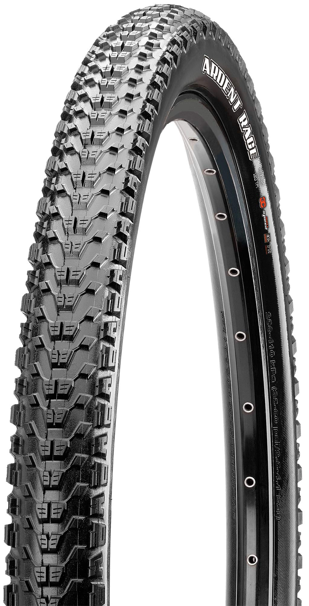 Maxxis EXO Double Compound Ardent Folding Tire, 27.5 x 2.4-Inch