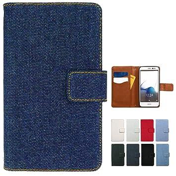 c9f2a75716 Amazon   SO-01G SOL26 401SO XPERIA Z3 デニム 手帳型 ケース カバー SO ...