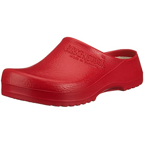 BIRKENSTOCK Unisex-Erwachsene Professional SUPER BIRKI Clogs, Rot (RED), 46 EU