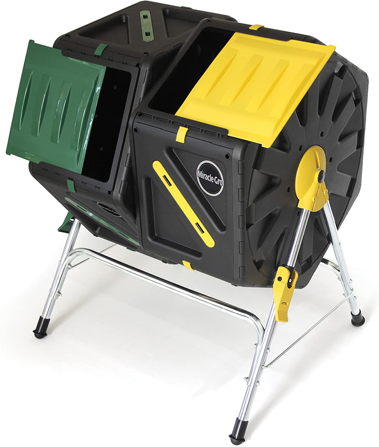Miracle-Gro DC270MG DC140 Dual Chamber Tumbling Composter