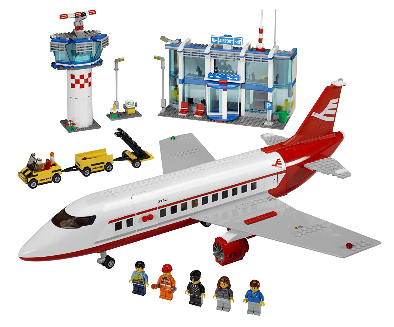 Aeroporto Lego : Amazon lego city airport discontinued by manufacturer