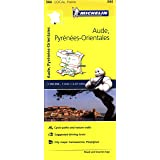 Aude, Pyrenees-Orientales Michelin Local Map 344 (Michelin Local Maps)