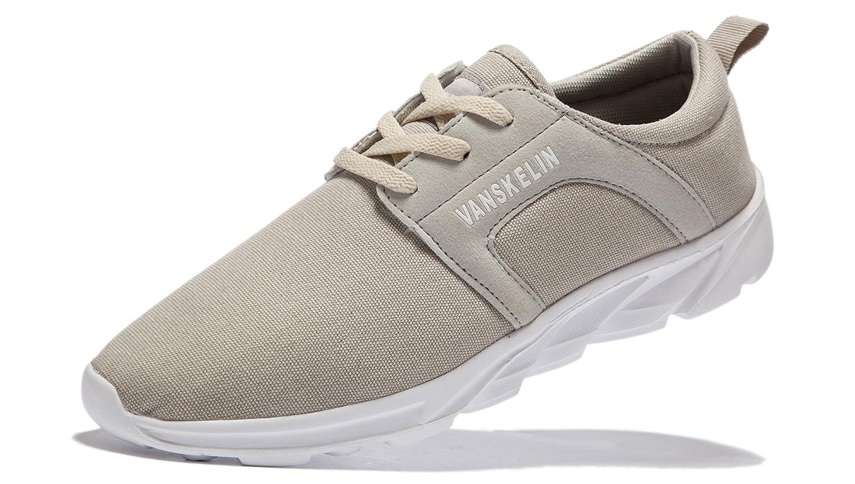 VANSKELIN - Zapatos Planos con Cordones Hombre