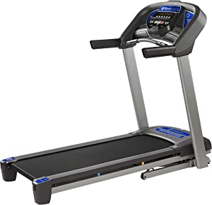 Horizon Fitness T101 Treadmill Series, Bluetooth Enabled, Folding Treadmills, Upgrade to The T202 or T303 for Larger Motor, app Integration, and Longer Deck