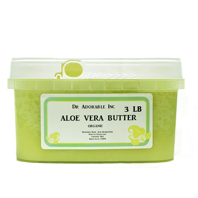 Mantequilla de Aloe Vera Puro Orgánico por Dr. Adorable 48 ...