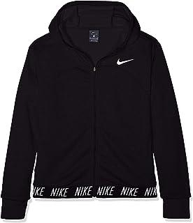 Nike Mädchen Dri fit Studio Full Zip Hoodie Jacke: