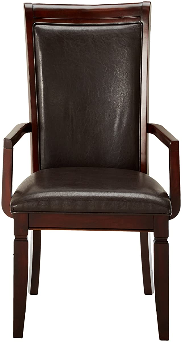 Coaster Home Furnishings Casual Arm Chair, Walnut, Set of 2