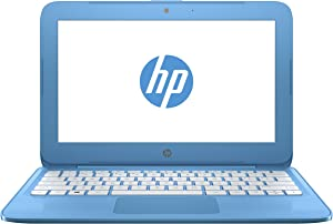 "HP 11-y010wm 11.6"" Stream N3060 1.60Ghz 4GB RAM 32GB eMMC Win10-Blue"