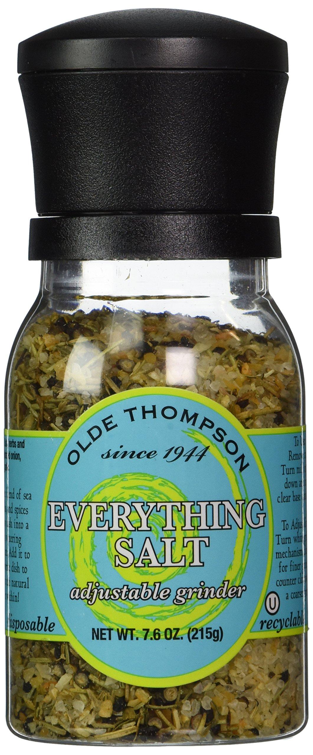 Olde Thompson Everything Salt 7.6oz Grinder (Pack of 3)