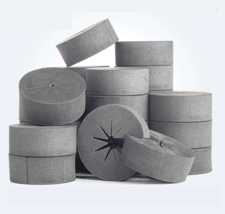 50 Neoprene Foam Insert Clone Collars w//8 Spokes Hydroponics Plant Germination