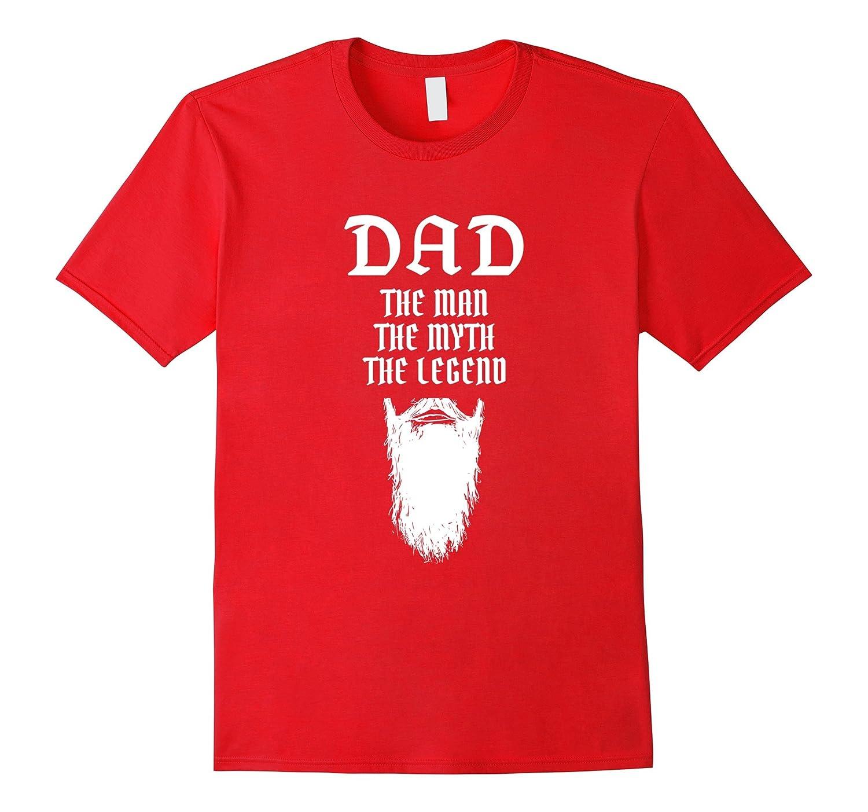 DAD Man Myth Legend Beard T-Shirt-BN