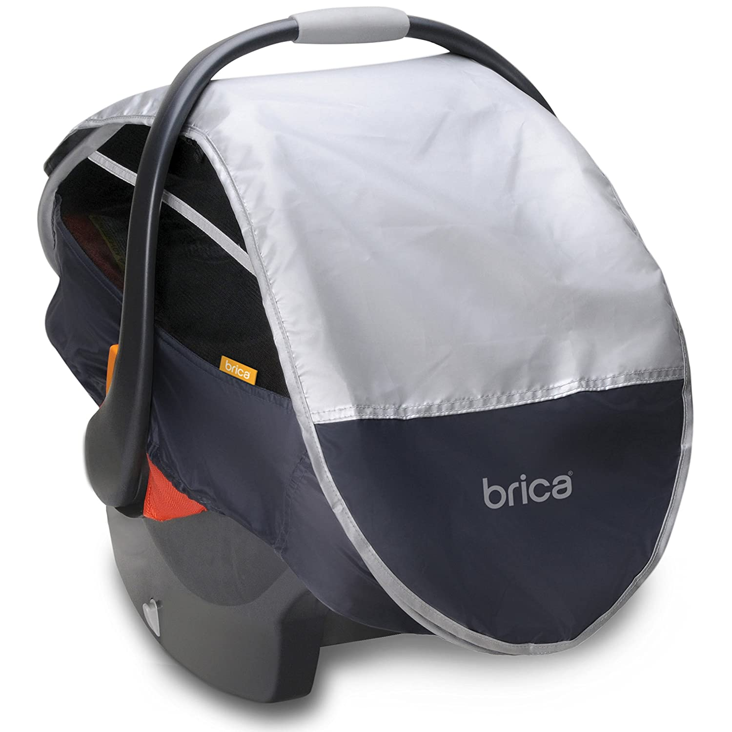 Munchkin BRICA Infant Comfort Canopy Car Seat Cover, Grey 69000