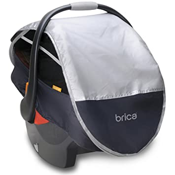 Brica Infant Comfort Canopy Car Seat Cover  sc 1 st  Amazon.com & Amazon.com: Brica Infant Comfort Canopy Car Seat Cover: Baby