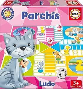 Educa Borrás - Parchís, Juego de Mesa (17212): Amazon.es: Juguetes y juegos