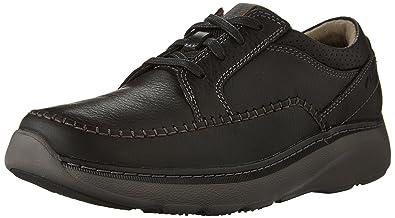 Clarks Charton Vibe Mens Oxfords Black Leather 14