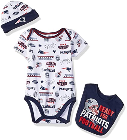 Image Unavailable. Image not available for. Color  NFL New England Patriots  Unisex-Baby Bodysuit ... 8ad9683e4