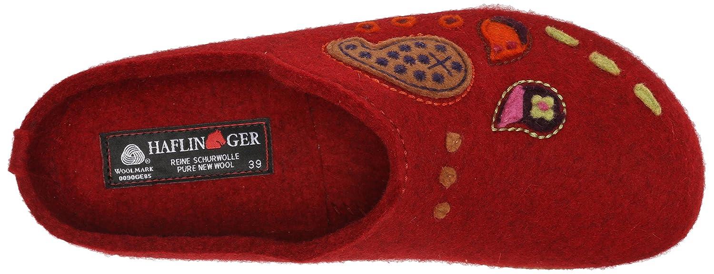 Haflinger Women's Paisley Clog B00UPKXZTS 41 B(M) M EU / 10 B(M) 41 US|Chili 599591