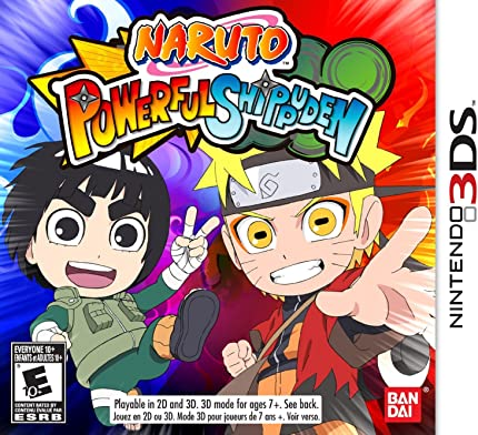 Amazon.com: Naruto Powerful Shippuden - Nintendo 3DS: Namco ...