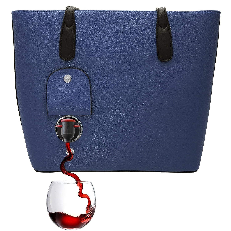 Amazon.com: PortoVino Wine Purse (Blue): Sports & Outdoors