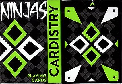 Amazon.com: Handlordz cardistry Ninjas verde kiwi Juego de ...
