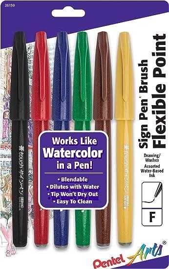 Tutorial Pentel Pack Fude Pen