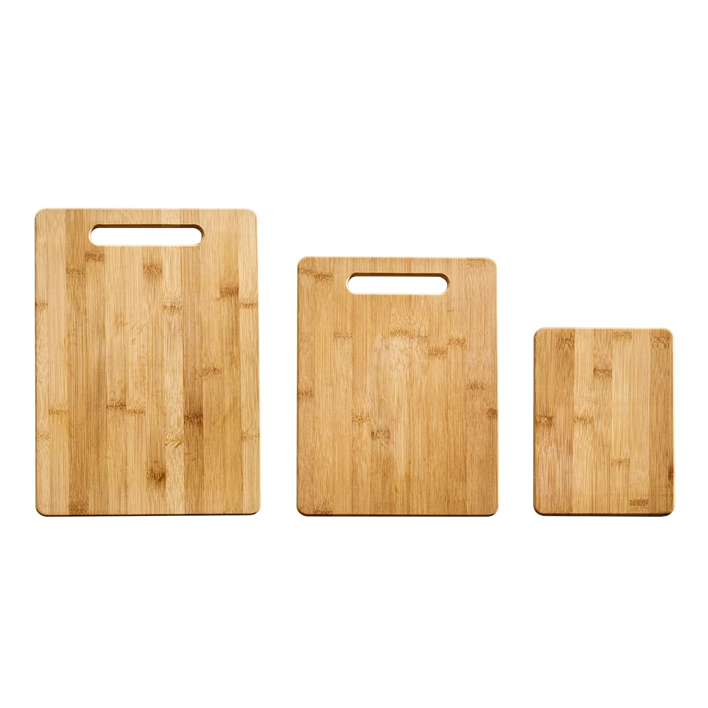 Amazoncom Farberware 5190597 3 Piece Bamboo Cutting Board Set