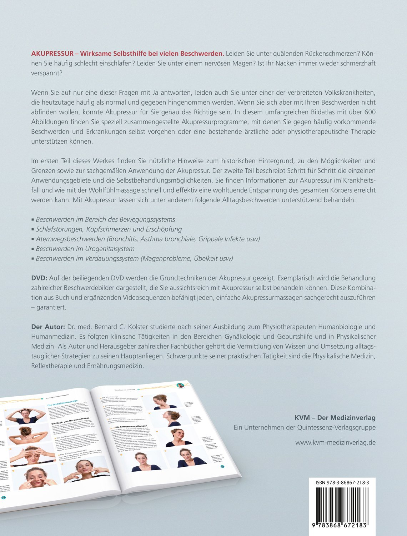 atlas der akupressur inkl dvd