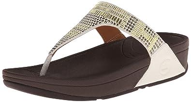 601c8d8effca7c Fitflop Women s Aztek Chada Tm Urban Toe Sandals Off-White Size  5.5 ...