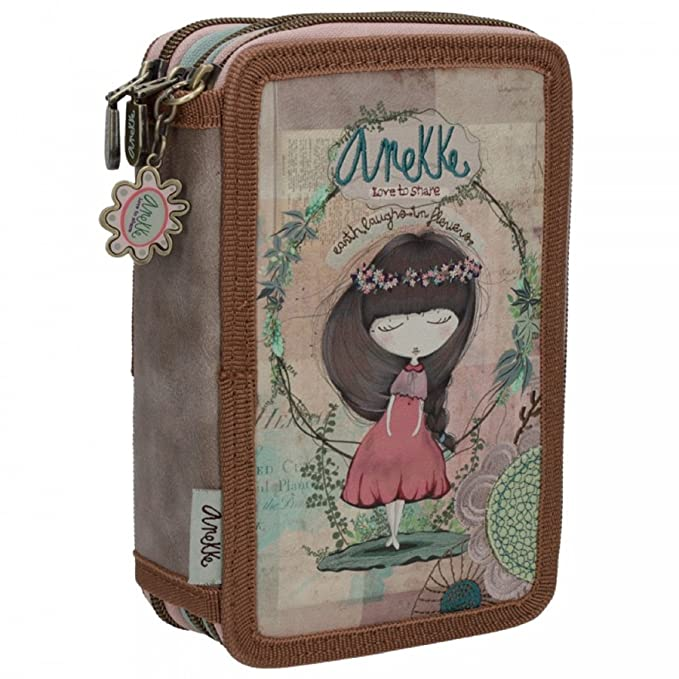Anekke Nature Estuches, 20 cm: Amazon.es: Equipaje