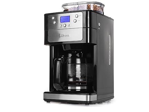 Tristar KZ-1228 - Cafetera con molinillo integrado para 2-12 ...