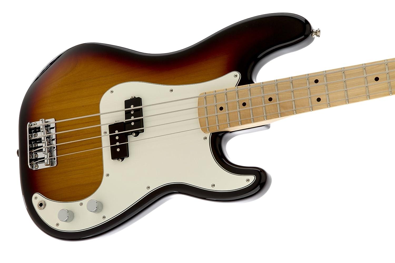 Amazon.com: Fender Standard Precision Electric Bass Guitar - Maple ...
