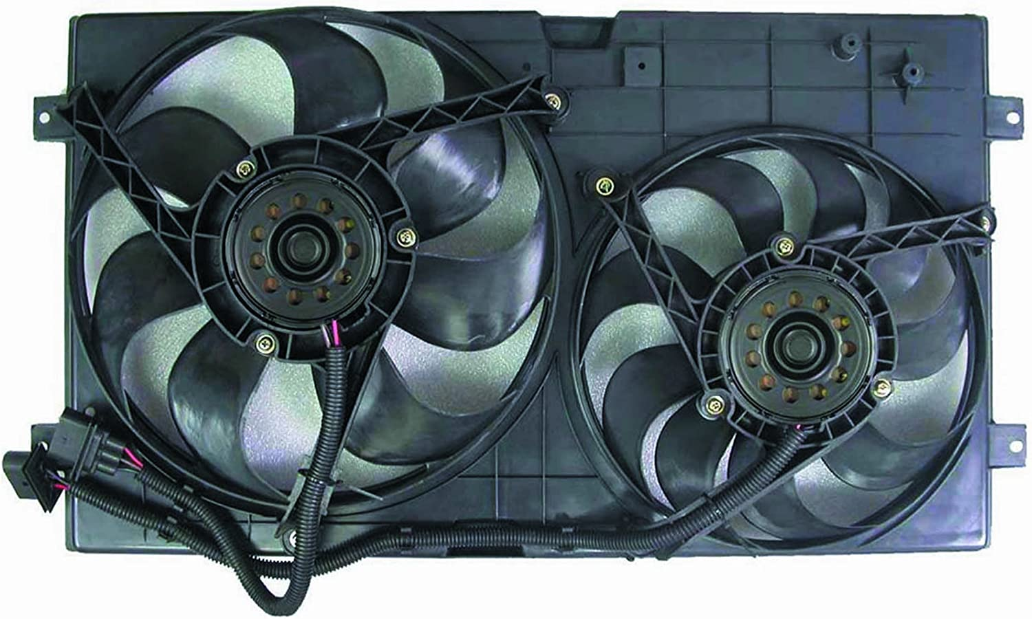 Depo 341-55001-000 Dual Fan Assembly