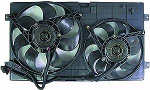 Depo 341-55001-000 Dual Fan Assembly