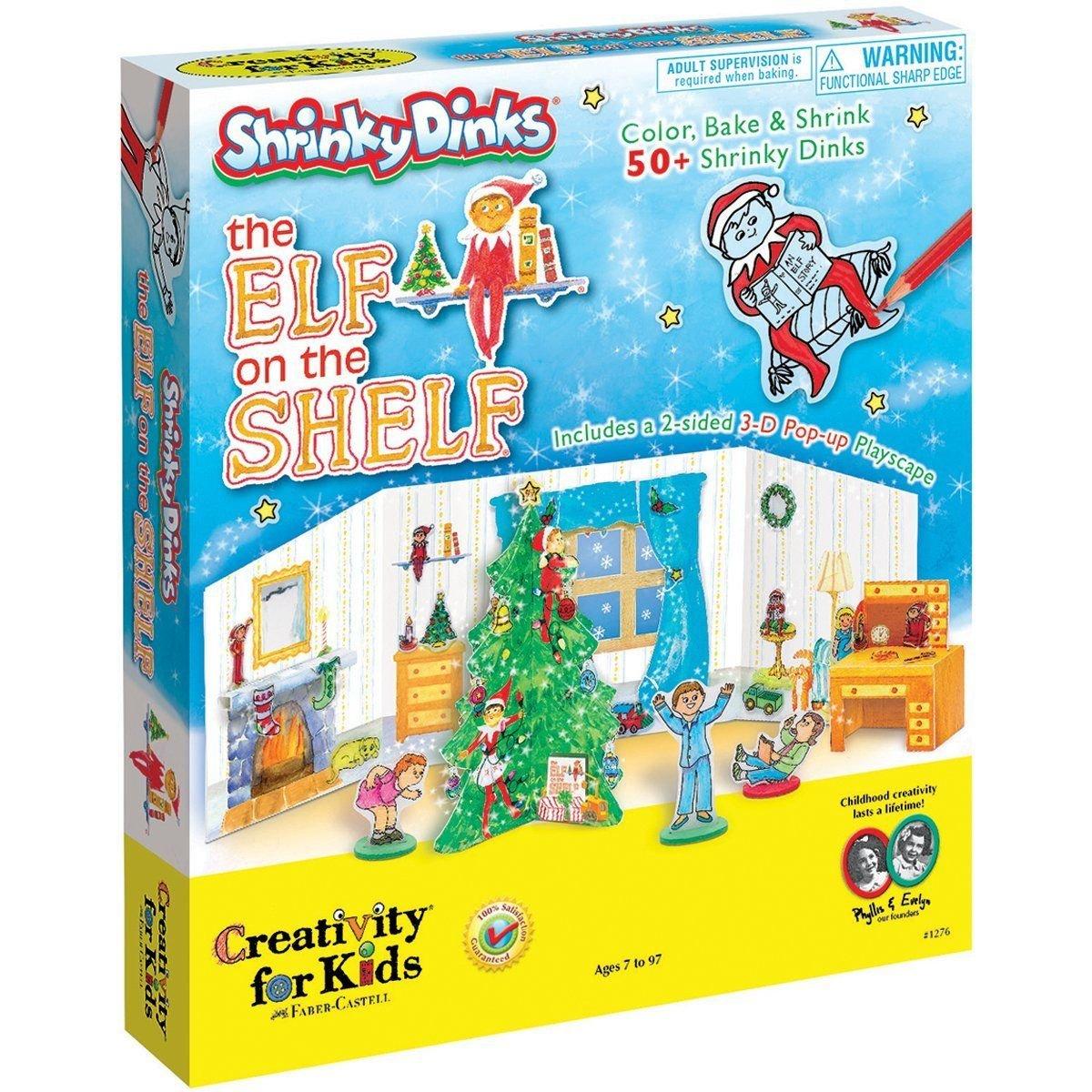Creativity For Kids Elf on The Shelf Shrinky Dinks Kit